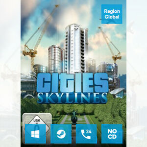 Cities Skylines for PC Game Steam Key Region Free