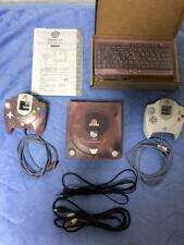 Sega Dreamcast Hello Kitty Pink Skeleton Limited Edition Game Console Working