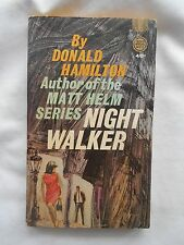 NIGHT WALKER-DONALD HAMILTON-(NOV,1964)-FAWCETT GOLD MEDAL BK #K-1472