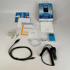 Creative Zen Micro reproductor de MP3, 5Gb (Azul Claro) probado y trabajo en caja en muy buena condición