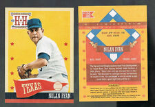 NOLAN RYAN #120 texas Rangers HOF Legend 2013 Panini Hometown Heroes