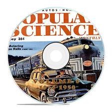 Classic Popular Science Magazine, Volume 8 DVD, 1954-1958, 51 issues, V08