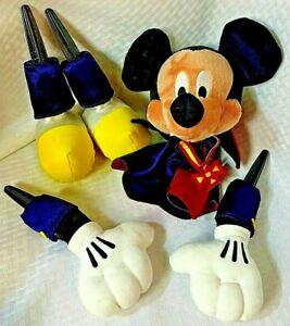 Mickey Vampire PLUSH Pumpkin Decorating Kit Disney Store HTF
