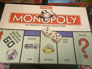 515 Waddingtons Monopoly Board Game Vintage 1996 Complete