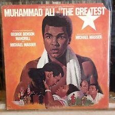 "{OST}~EXC LP~""The GREATEST""~MUHAMMAD ALI~[1977~ARISTA~Iss]~WLP WHITE LABEL PROMO"