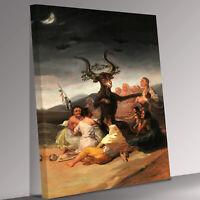 Witches Sabbath  Francisco de Goya Canvas Wall Art Picture Print