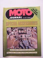 Moto Journal Octobre 1977 N°334 Spécial Accessoires Nouvelles tout terrain
