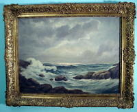 SEASCAPE OIL PAINTING Listed Artist Eugen VON OTTENFELD