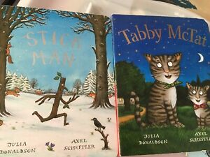 Stick Man And Tabby McTat Board Book Set