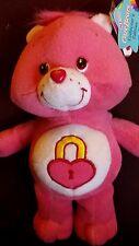 "8"" Care Bears 2004 Secret  Bear  Plush"