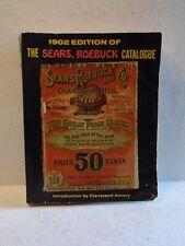 Vintage 1902 Edition Sears, Roebuck Catalogue Reprint