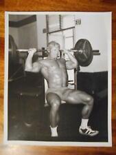Vintage Bodybuilder PAUL GRANT bodybuilding muscle ORIGINAL photo