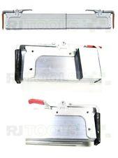 2 x Alu Spannbrett Zwischenwandverschluss Klemmbrett, 2,40-2,70 m Einsatzbereich