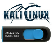 Kali Linux 2021.3 64 Bit 32 Gb Usb 3.2 Bootable Live Linux Network Penetration