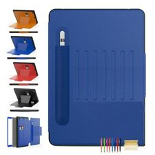 """Leather Magnetic Stand Card Pocket Case Cover For iPad 6 7 10.2"""" Mini4 5 Air1 2"""