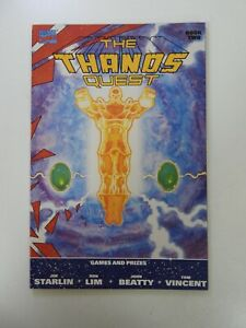 Thanos Quest #2 1st print VF+ condition Huge auction going on now!