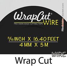 """""""WrapCut Wire"""" 5m,kabel metallisch Trenn- vinylfolie,klebstoff,abdeckung,wrap"""