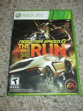 Need for Speed: The Run (Microsoft Xbox 360, 2011) w/ Case