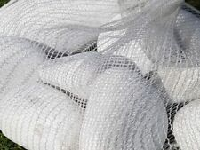 Marmor Steine Weiss 100-200mm im 15kg Netz Granulati Zandobbio Garten Naturstein