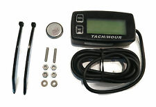 LCD BACKLIT DIGITAL HOUR METER TACHOMETER for Boat PWC Jet Ski Watercraft Marine