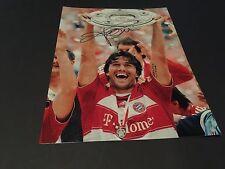 Luca toni campeón mundial en-persona (fc bayern munich) signed photo 20x27
