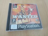 Wanted For Sony Playstation 1, PS1, pal