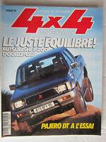 4X4 MAGAZINE N° 154 /PAJERO V6 3500/MITSUBISHI L200 DOUBLE CAB/ATLAS 94