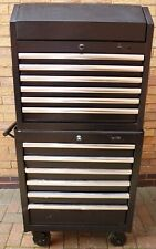 Halfords Advanced Tool Chest & Cabinet 12 Drawers BLACK - RRP £525 heavy duty