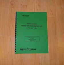 Remington Model 51 Pistol Repair / Service Manual - #97