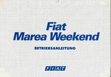 1996 FIAT MAREA WEEKEND BETRIEBSANLEITUNG HANDBUCH BA OWNER'S MANUAL DEUTSCH