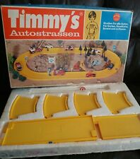 Rare Vintage Retro German Timmy's Autostrassen Road Playset 1970s