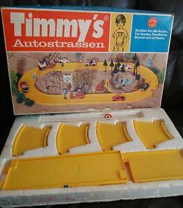 Rare Vintage Retro German Timmy's Autostrassen Road Playset 1970s