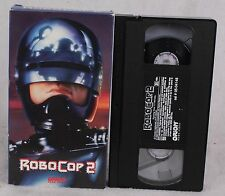 RARE Vintage Robocop 2 VHS Orion Home Video Peter Weller Sci fi Cult classic