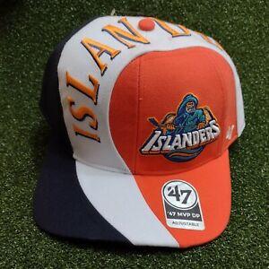 New York Islanders 47 Vintage MVP DP Fisherman Snapback Hat Cap NHL