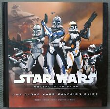 NEW The Clone Wars Campaign Guide — Star Wars Saga Edition RPG SWSE WotC d20