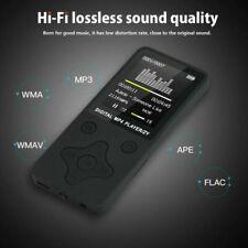 US Portable MP4 Media FM Radio Bluetooth MP3 Music Player Hi-Fi Support 128GB SD