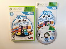 UDRAW STUDIO: INSTANT ARTIST (GAME ONLY) XBOX 360 W/ ORIGINAL BOX GOOD- COMPLETE