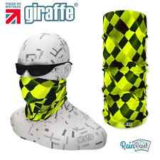 G345 checker balaclava bandana masque cou écharpe tube snood chaud coiffures