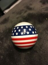 American Flag Car Truck ANTENNA BALL red white and blue patriotic