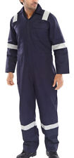 Fire Retardant Anti Static ERSKINE B/SUIT Navy Blue - Size 60''