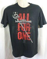 The Three Musketeers 2011 Matthew MacFadyen Movie Promo T-Shirt Size M Medium