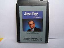 JIMMIE DAVIS FAVORITES.8 TRACK TAPE,TESTED