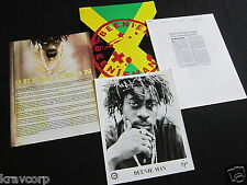 BEENIE MAN 'ART & LIFE' 2000 PRESS KIT--PHOTO