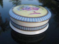 "Vintage LIMOGES FRANCE trinket/jewelry box Clearance ATELIER DU TABALOU 3.5"""