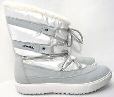 NEU O´NEILL Damen Boots Stiefel weiß Perlmutt farbig Gr. 41  mit Echt Leder
