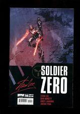 SOLDIER ZERO 10 (9.8)  STAN LEE BOOM (b000)