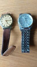 Two Hand Winding Mechanical Watches Both Working