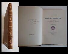 Edition Originale illustrée Stéphane Mallarmé Contes Indiens Etat neuf ! 1927