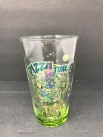 2014 Just Funky Teenage Mutant Ninja Turtles 16OZ Pint Glass Pizza Time TMNT GUC