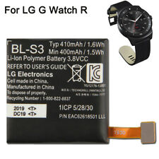 New Mobile Phone Battery BL-S3 For LG G Watch R W110 W150 Watch Battery 410mAh